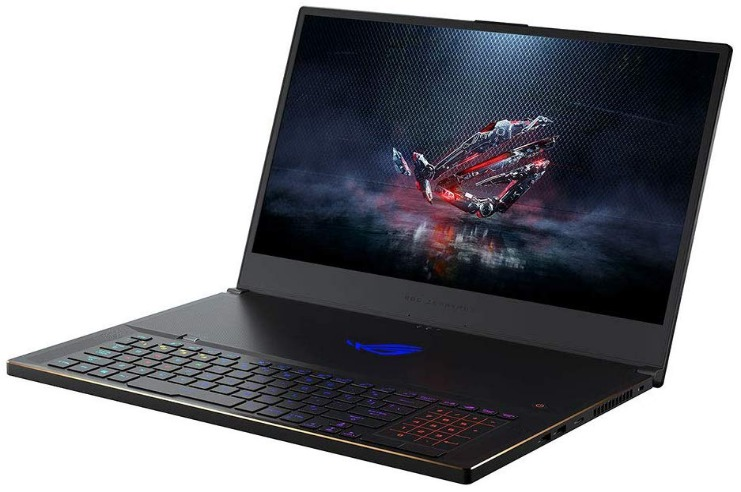 Asus ROG Zephyrus S GX701, top-rated gaming laptops