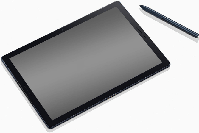 One of the top rated tablets, the Google Pixel Slate with stylus