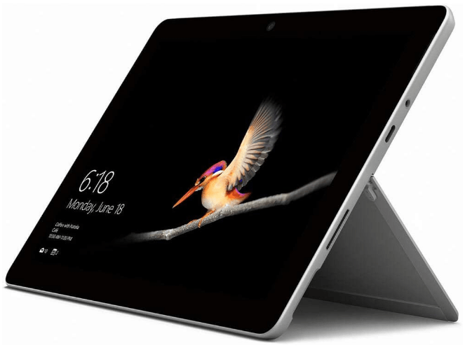 top rated tablets, the Microsoft Surface Go