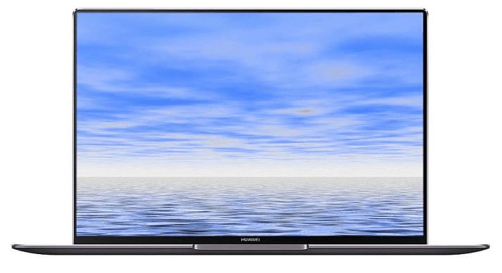 Huawei MateBook laptop, front view of the Huawei MateBook X Pro