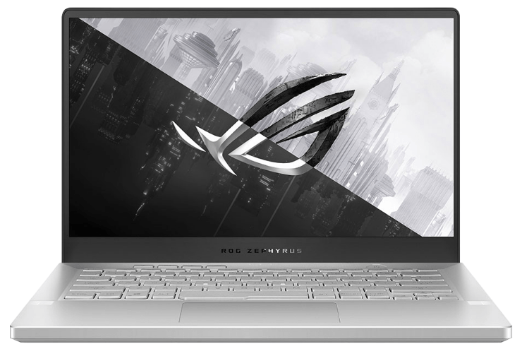 Asus Zephyrus G14 Review, main view gaming laptop