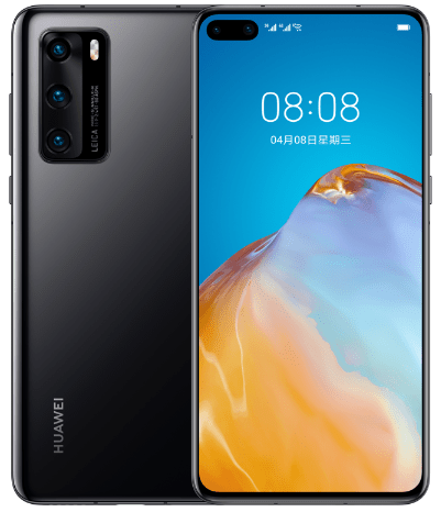The P40 smartphone is part of the Huawei P40 phone series.