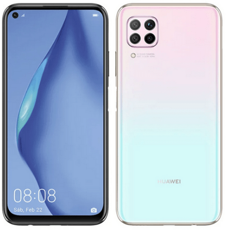 An alternative P40 Lite not included in the Huawei P40 phone series
