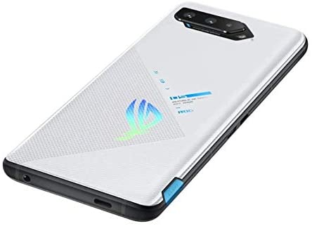 Storm white variant of the Asus ROG Phone 5
