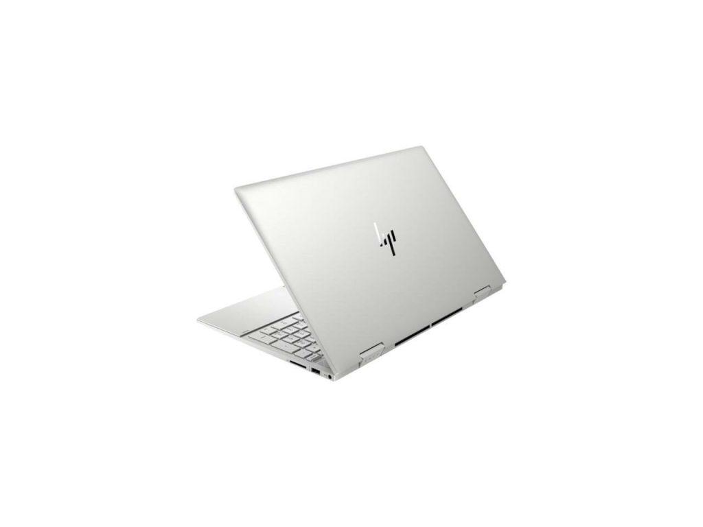 Back shot of the HP Envy X360 laptop, HP Envy X360 15 Review
