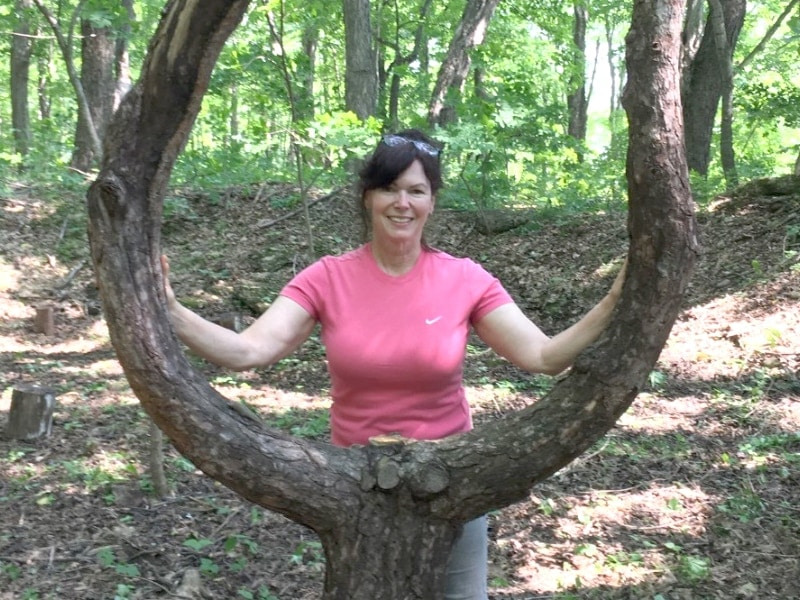 Barbara Rabicki - certified by the Association of Nature and Forest Therapy