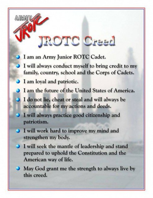 JROTC Creed