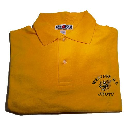 Western JROTC Polo