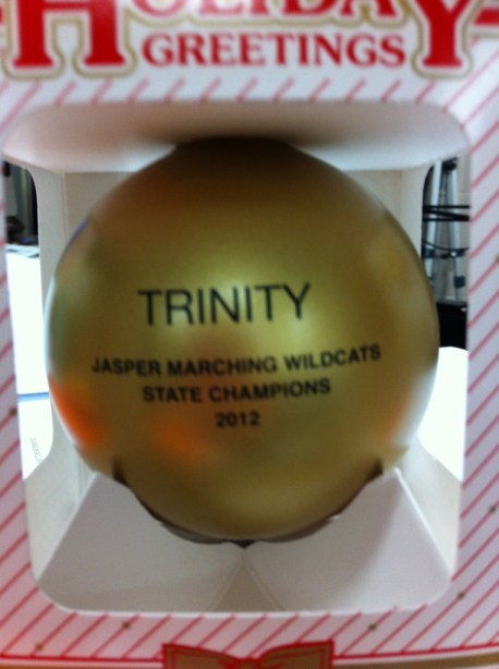 State Champion ornament