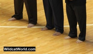 Coach Calipari's Feet