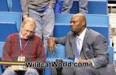 Jerry Tipton with Jamal Mashburn