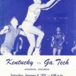 Kentucky vs. Georgia Tech, 1955
