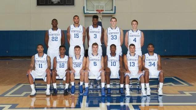 Kentucky Team Roster