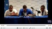 Kidd-Gilchrist, Lamb, Miller talk NBA, new UK squad