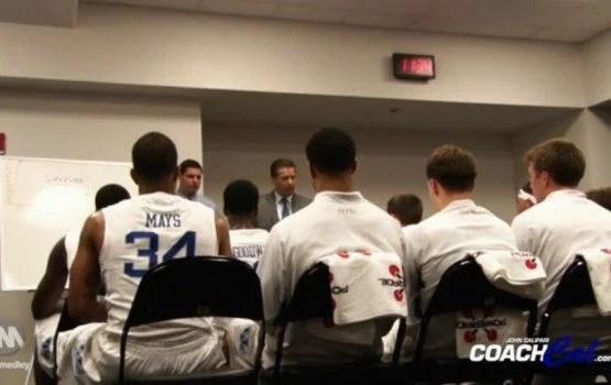 Coach Calipari Locker Room