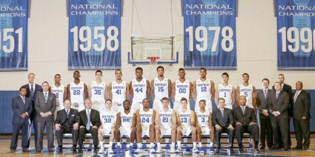 2014-2015 Kentucky Basketball Roster Photo