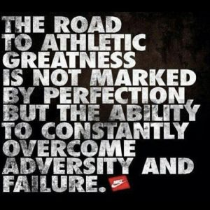 nike quotes - the road to atheletic greatness