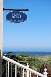 Sea House Sign