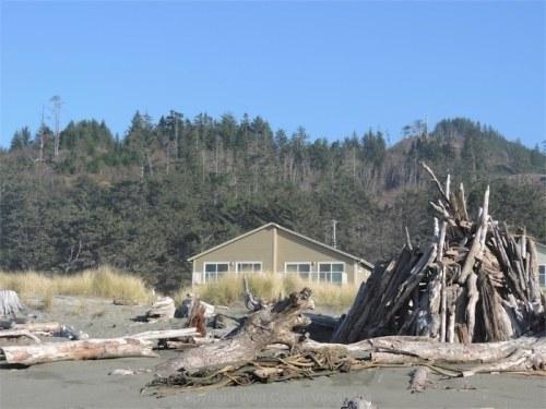 Sea House from beach