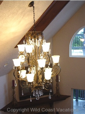 Villa by the Sea light fixture