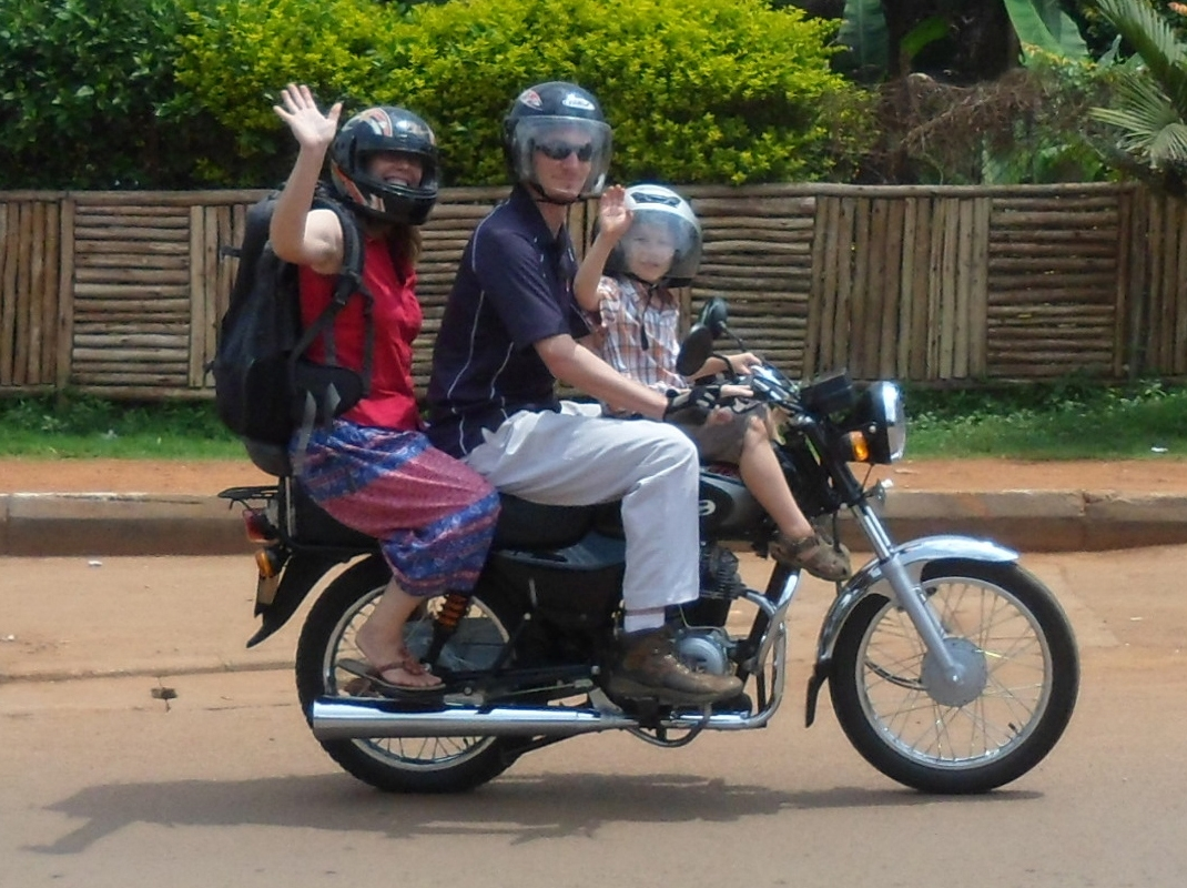 Kampala City tour - Boda-boda Motorcycle Transport