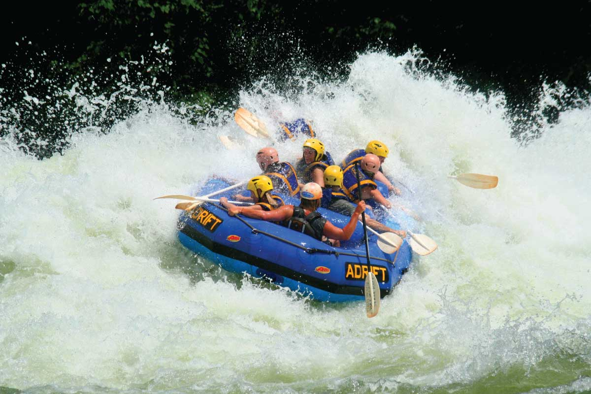 Whitewater rafting - Jinja, The Adrenaline Capital of East Africa