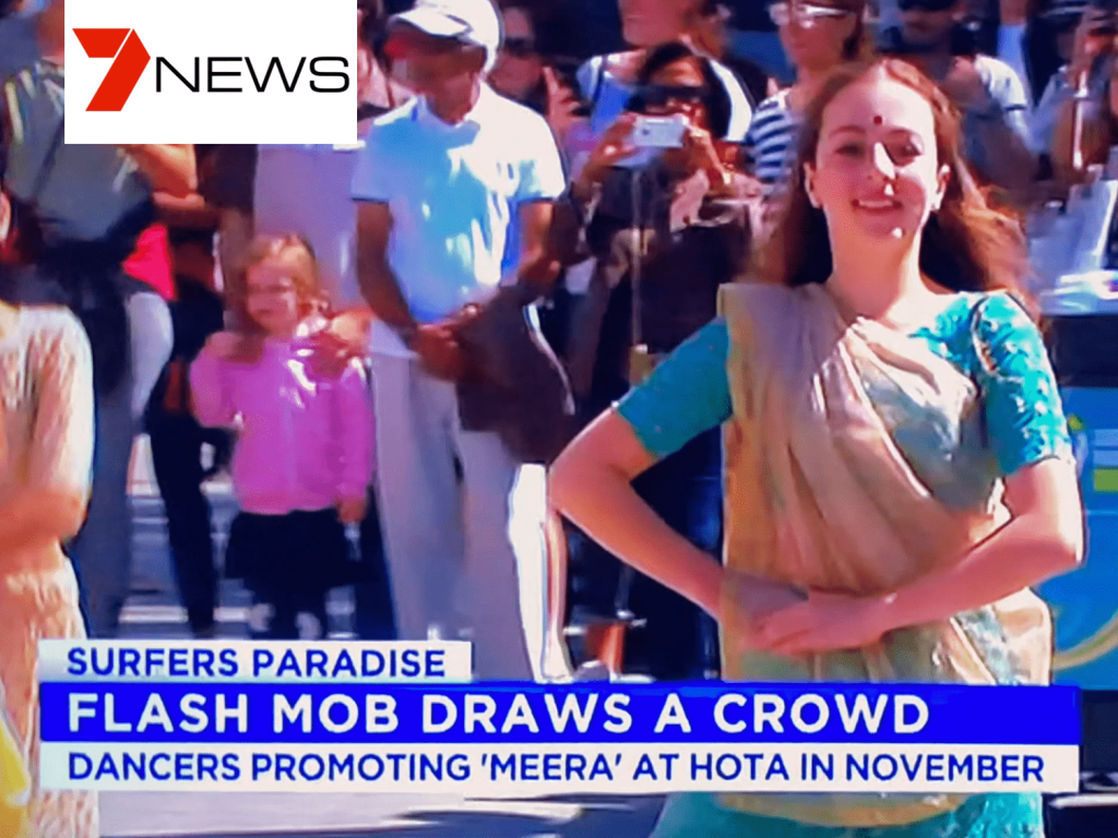 Channel 9 Meera Flash Mob