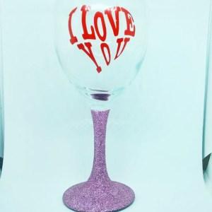 glitter wine