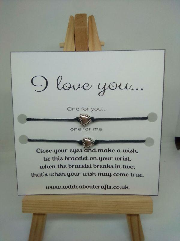 love wish bracelet
