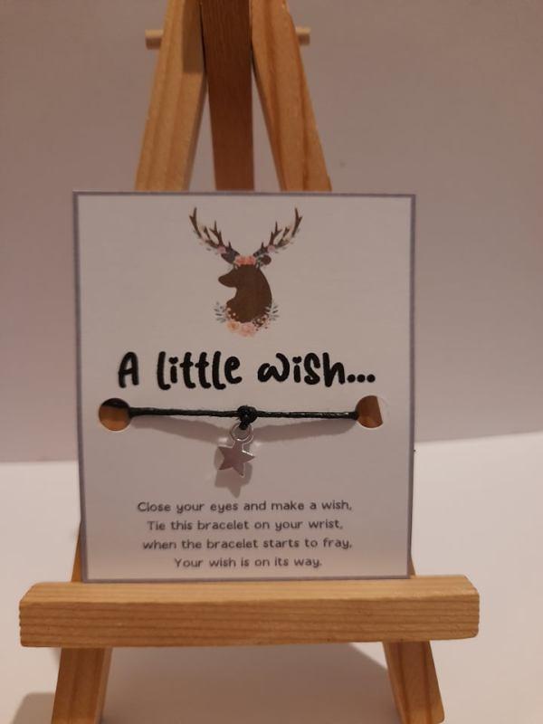 deer wish bracelet