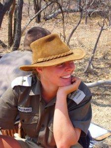 Tara Pirie, safari guide