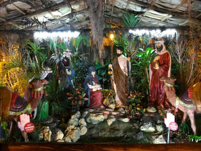 the nativity scene is also a christmas tradition in the dominican republic it represents the birth of jesus with the virgin mary joseph and the three - Christmas In Dominican Republic
