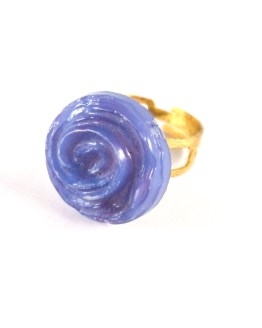 Blue Rose Ring by Wilde Designs