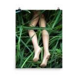 barbie murders body dump poster by wilde designs