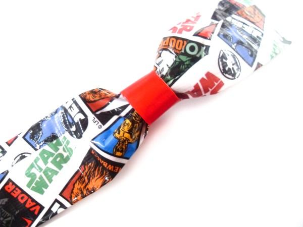 Star Wars Duct Tape Bow Bracelet by Wilde Designs