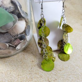 Mermaid Scale Earrings by Wilde Designs
