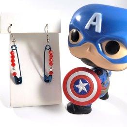 Team Steve Geeky Character Earrings by Wilde Designs