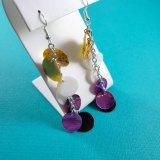 Non Binary Pride Dragon Scale Earrings by Wilde Designs