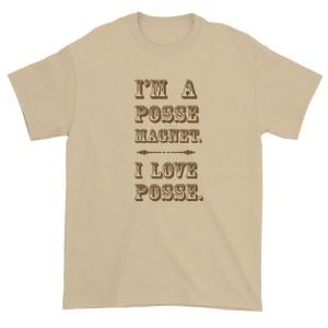 posse magnet tshirt by wilde designs