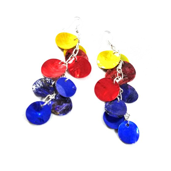 Superhero Dragon Scale Earrings by Wilde Designs