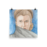 General Leia Organa Poster by Wilde Designs