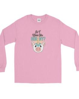Do I Make You Horny Long Sleeve tshirt by Wilde Designs