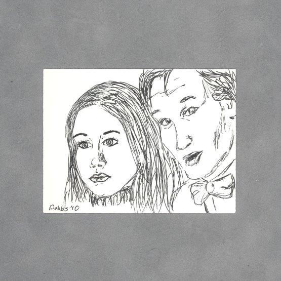 Amy & Eleven Art Card by Wilde Designs