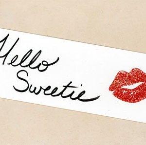 Hello Sweetie Bookmark by Wilde Designs