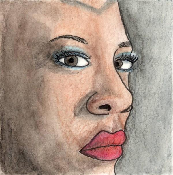 Okoye Mini Watercolor by Wilde Designs