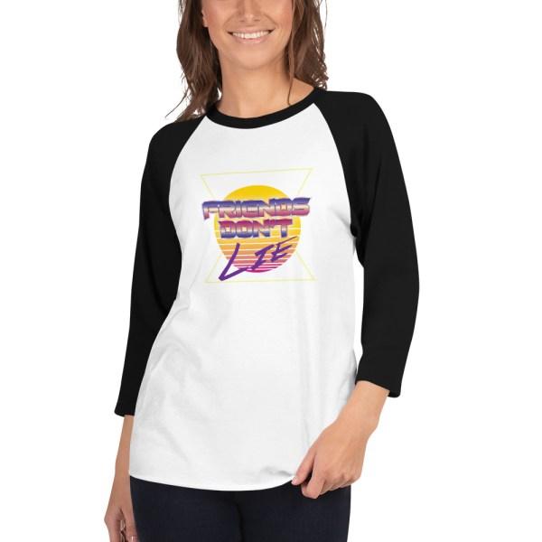 Friends Don't Lie Raglan Shirt by Wilde Designs