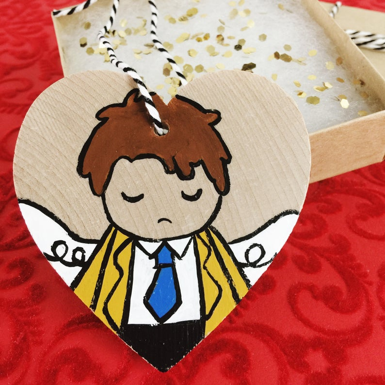 Castiel Ornament by Hello Quirky