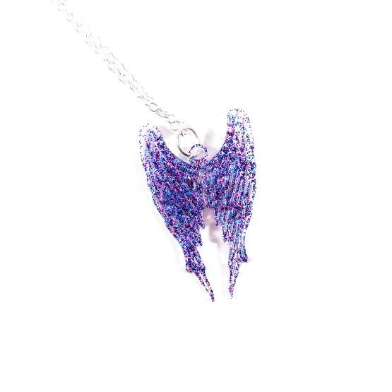 Galaxy Angel Necklace by Wilde Designs