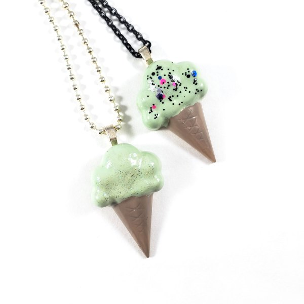 Sweet Tooth Ice Cream Necklace by Wilde Designs