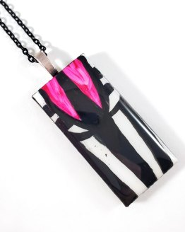 Beetlejuice Tile Necklace by Wilde Designs